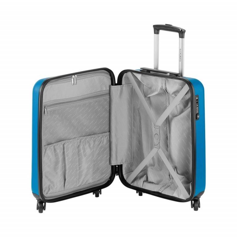 Loubs Trolley 4-Rollen Brisbane 55cm Blau, Farbe: blau/petrol, Marke: Loubs, Abmessungen in cm: 40.0x55.0x20.0, Bild 3 von 5