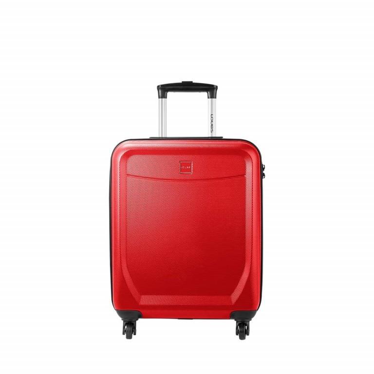 Loubs Trolley 4-Rollen Brisbane b 55cm Rot, Farbe: rot/weinrot, Marke: Loubs, Abmessungen in cm: 40.0x55.0x20.0, Bild 1 von 5