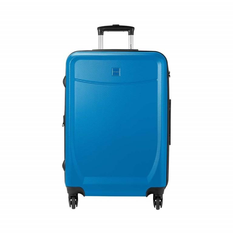 Loubs Trolley 4-Rollen Brisbane 66cm Blau, Farbe: blau/petrol, Marke: Loubs, Abmessungen in cm: 44.0x66.0x27.0, Bild 1 von 5