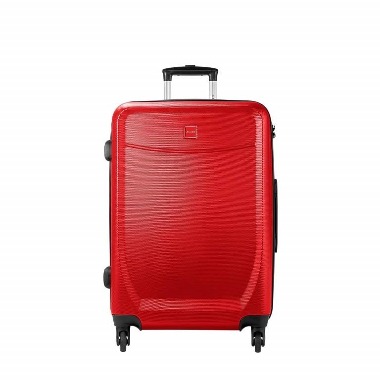 Loubs Trolley 4-Rollen Brisbane e 66cm Rot, Farbe: rot/weinrot, Marke: Loubs, Abmessungen in cm: 44.0x66.0x27.0, Bild 1 von 5