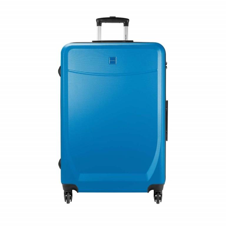 Loubs Trolley 4-Rollen Brisbane 76cm Blau, Farbe: blau/petrol, Marke: Loubs, Abmessungen in cm: 50.0x76.0x27.0, Bild 1 von 5