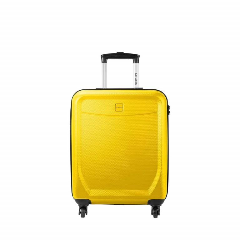 Loubs Trolley 4-Rollen Brisbane c 55cm Gelb, Farbe: gelb, Marke: Loubs, Abmessungen in cm: 40.0x55.0x20.0, Bild 1 von 5
