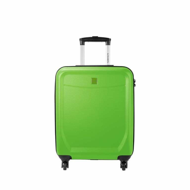 Loubs Trolley 4-Rollen Brisbane 55cm Grün, Farbe: grün/oliv, Marke: Loubs, Abmessungen in cm: 40.0x55.0x20.0, Bild 1 von 5