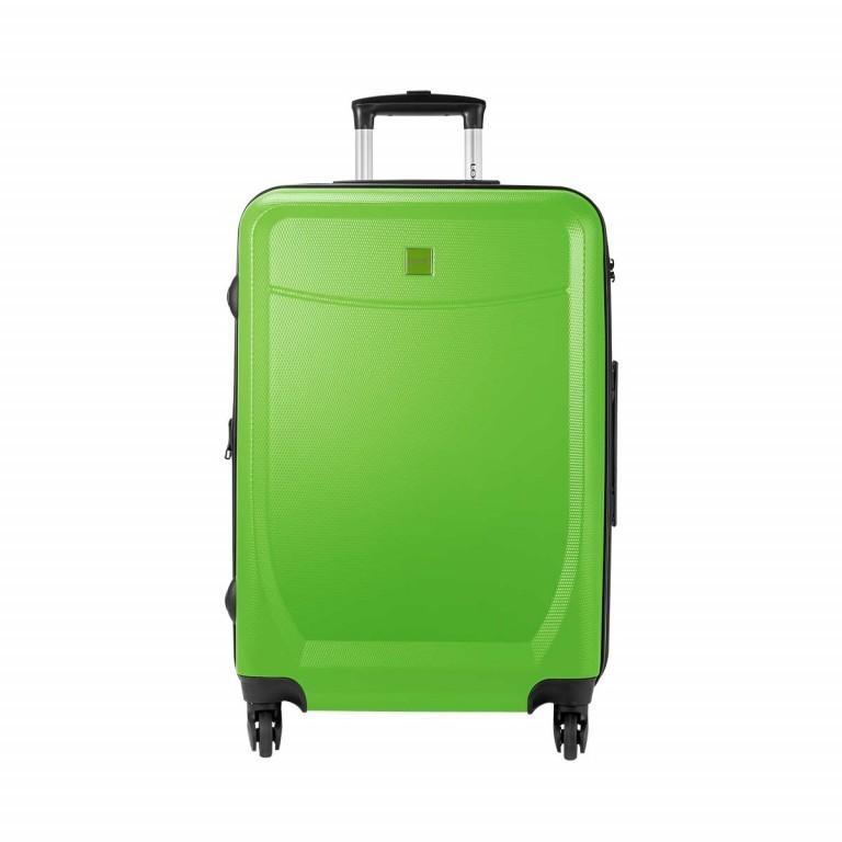 Loubs Trolley 4-Rollen Brisbane 66cm Grün, Farbe: grün/oliv, Marke: Loubs, Abmessungen in cm: 44.0x66.0x27.0, Bild 1 von 5