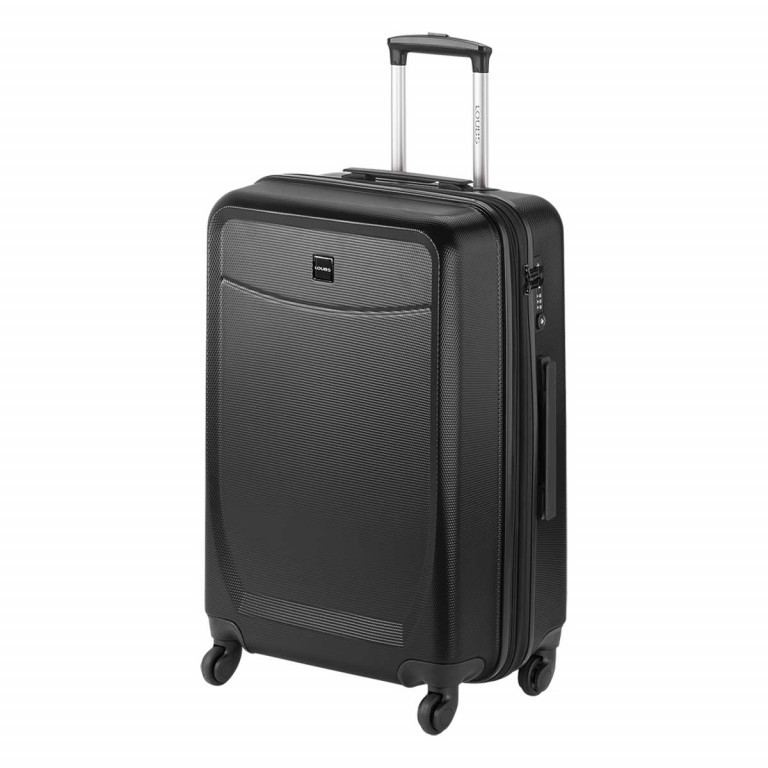 Loubs Trolley 4-Rollen Brisbane d 66cm Anthra, Farbe: anthrazit, Manufacturer: Loubs, Dimensions (cm): 44.0x66.0x27.0, Image 2 of 5