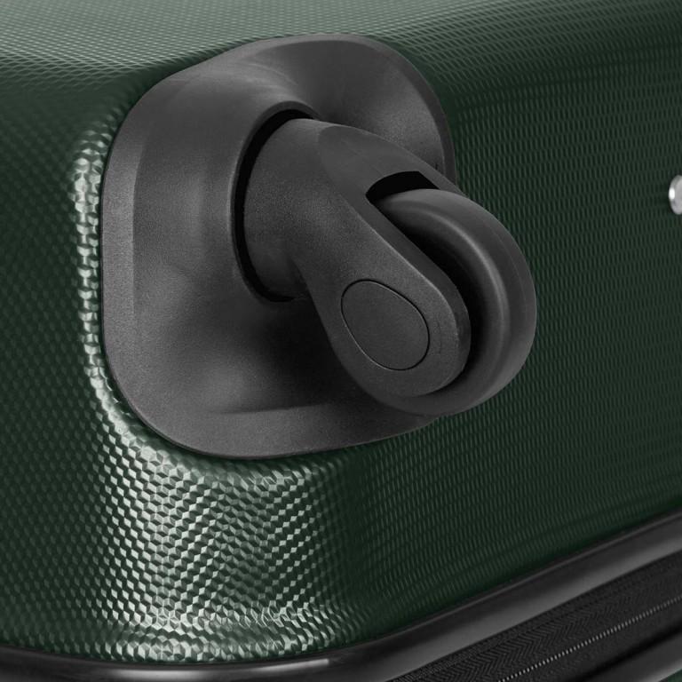 Loubs Trolley 4-Rollen Brisbane 76cm Dunkelgrün, Farbe: grün/oliv, Marke: Loubs, Abmessungen in cm: 50.0x76.0x27.0, Bild 4 von 5