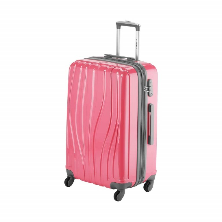 Loubs Trolley 4-Rollen Tulip M 66cm Weiss, Farbe: weiß, Manufacturer: Loubs, Dimensions (cm): 44.0x66.0x27.0, Image 2 of 5