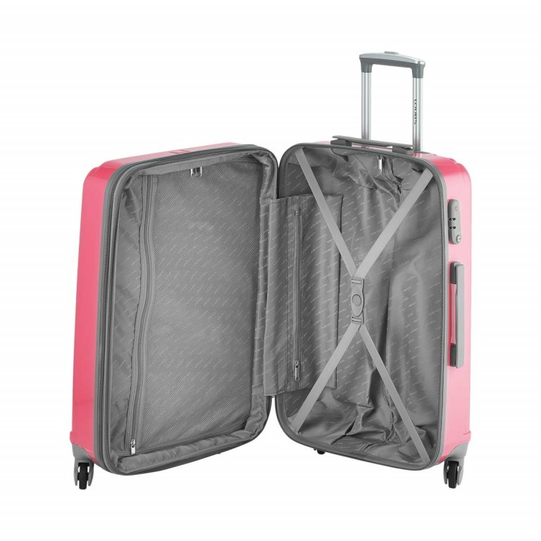 Loubs Trolley 4-Rollen Tulip M 66cm Weiss, Farbe: weiß, Manufacturer: Loubs, Dimensions (cm): 44.0x66.0x27.0, Image 3 of 5
