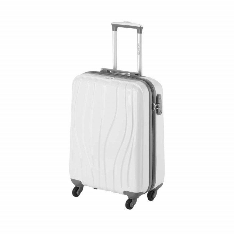 Loubs Trolley 4-Rollen Tulip S 55cm Weiss, Farbe: weiß, Manufacturer: Loubs, Dimensions (cm): 40.0x55.0x20.0, Image 2 of 4