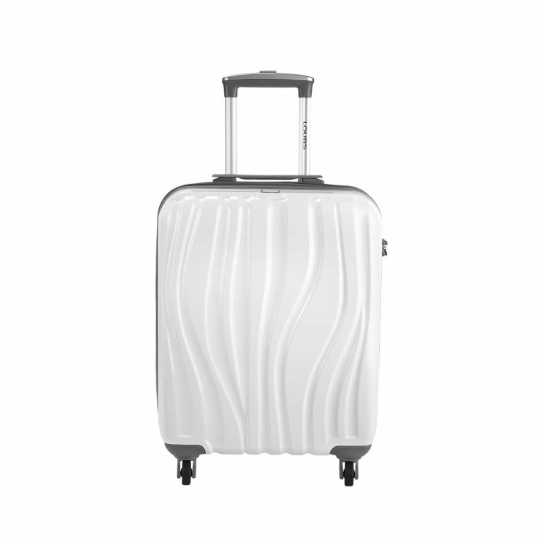 Loubs Trolley 4-Rollen Tulip S 55cm Weiss, Farbe: weiß, Manufacturer: Loubs, Dimensions (cm): 40.0x55.0x20.0, Image 1 of 4