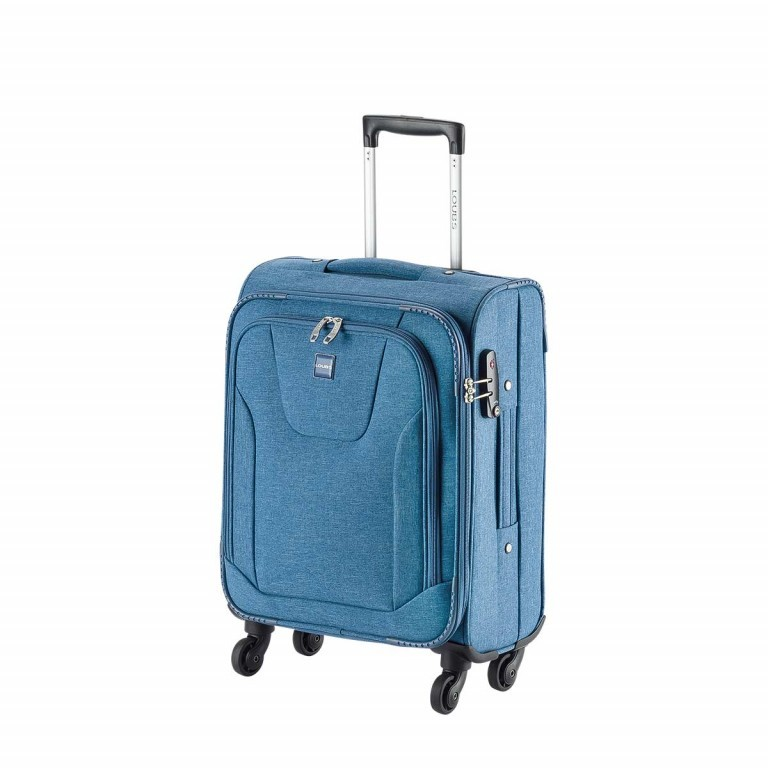 LOUBS Trolley Townsville 52cm Jeansblau, Farbe: blau/petrol, Manufacturer: Loubs, Dimensions (cm): 38.0x52.0x20.0, Image 2 of 5