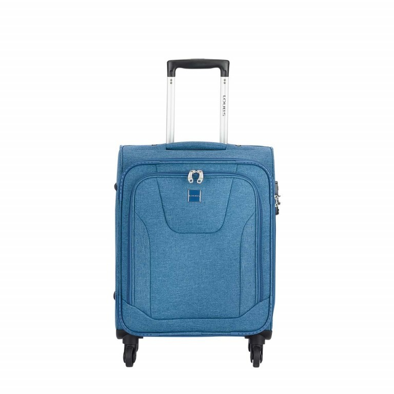 LOUBS Trolley Townsville 52cm Jeansblau, Farbe: blau/petrol, Manufacturer: Loubs, Dimensions (cm): 38.0x52.0x20.0, Image 1 of 5