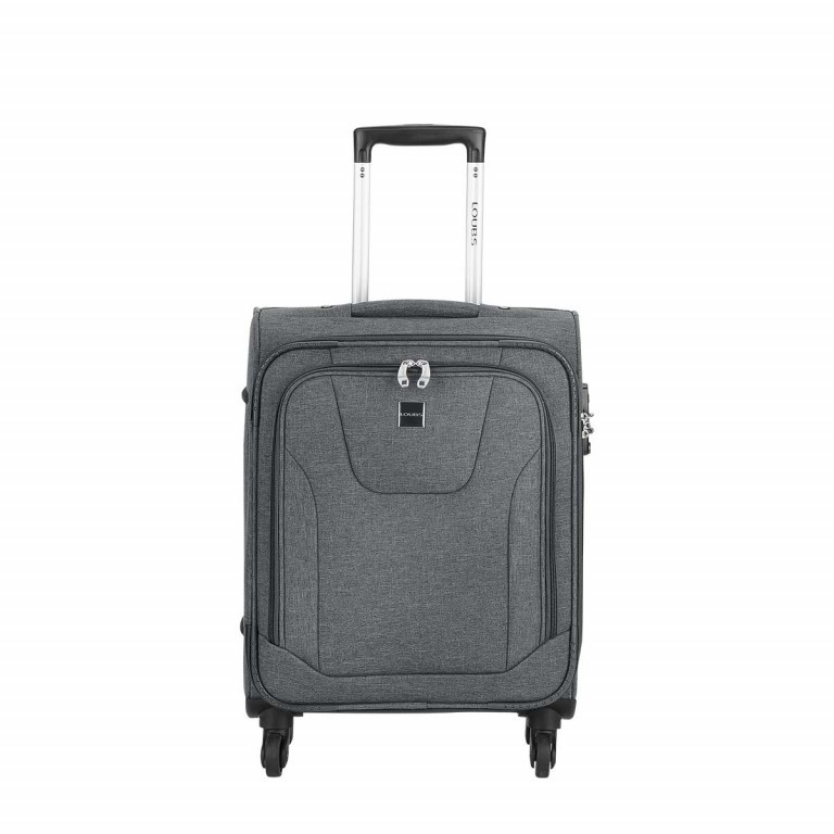 LOUBS Trolley Townsville 52cm Anthra, Farbe: anthrazit, Manufacturer: Loubs, Dimensions (cm): 38.0x52.0x20.0, Image 1 of 5