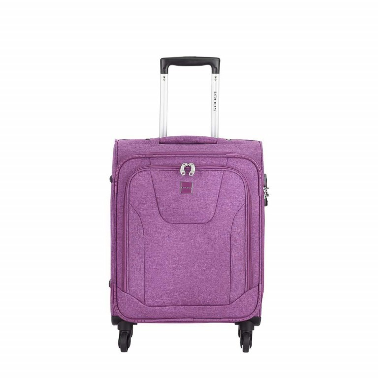 LOUBS Trolley Townsville 52cm Lila, Farbe: flieder/lila, Manufacturer: Loubs, Dimensions (cm): 38.0x52.0x20.0, Image 1 of 6