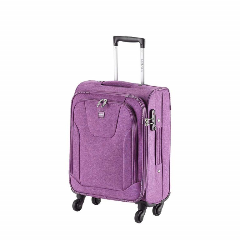 LOUBS Trolley Townsville 52cm Lila, Farbe: flieder/lila, Manufacturer: Loubs, Dimensions (cm): 38.0x52.0x20.0, Image 2 of 6