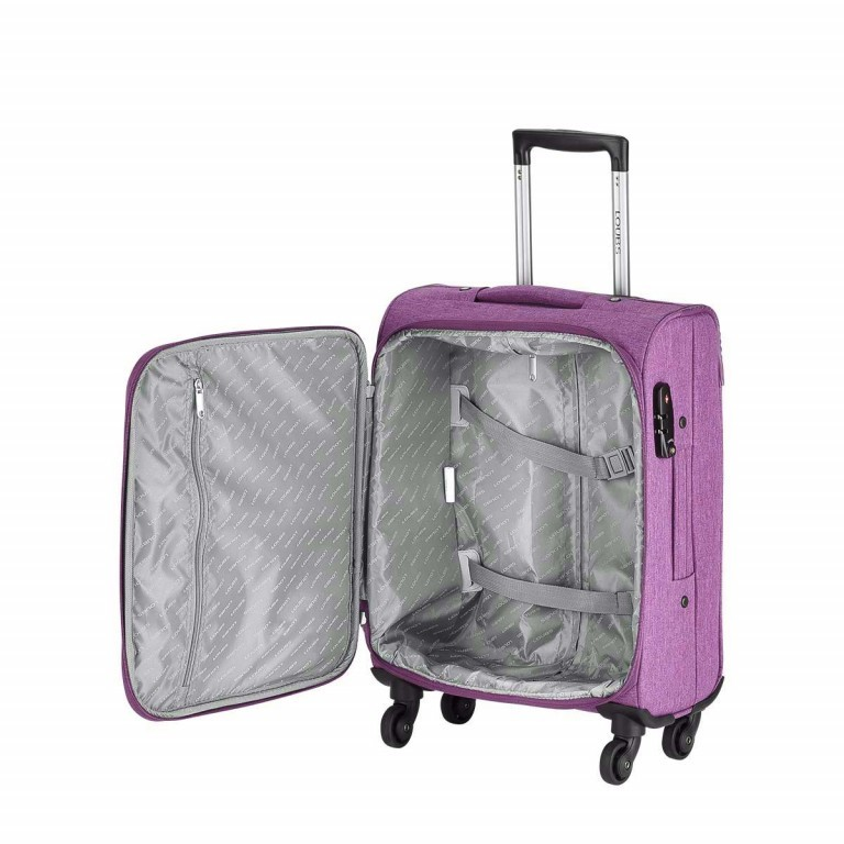 LOUBS Trolley Townsville 52cm Lila, Farbe: flieder/lila, Manufacturer: Loubs, Dimensions (cm): 38.0x52.0x20.0, Image 3 of 6