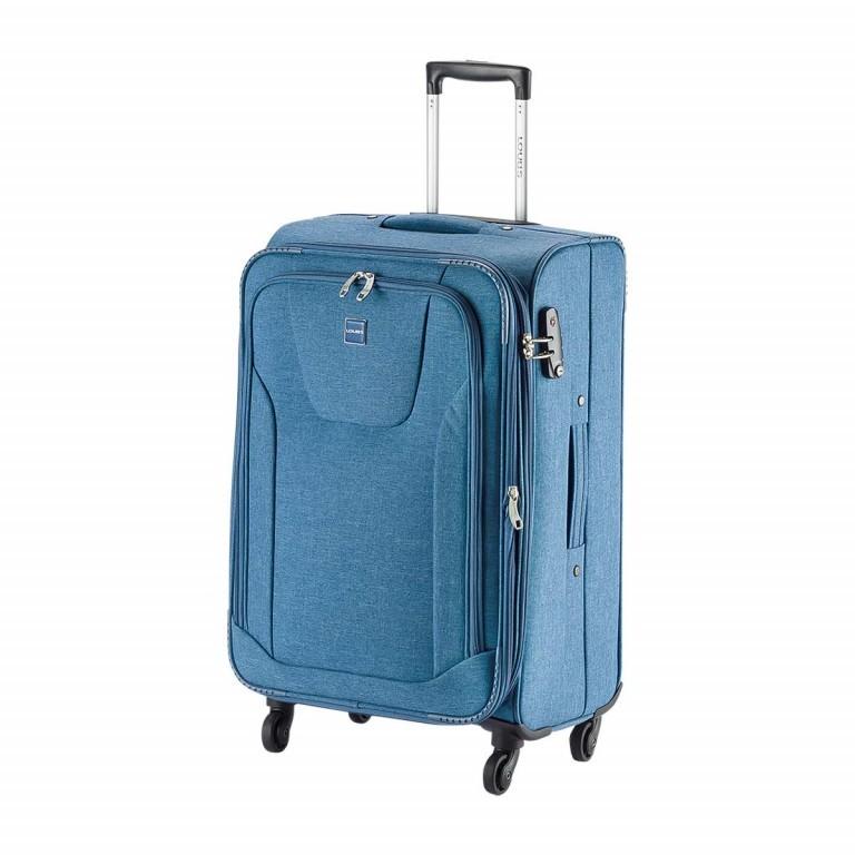 LOUBS Trolley Townsville 76cm Jeansblau, Farbe: blau/petrol, Marke: Loubs, Abmessungen in cm: 47.0x76.0x30.0, Bild 2 von 6