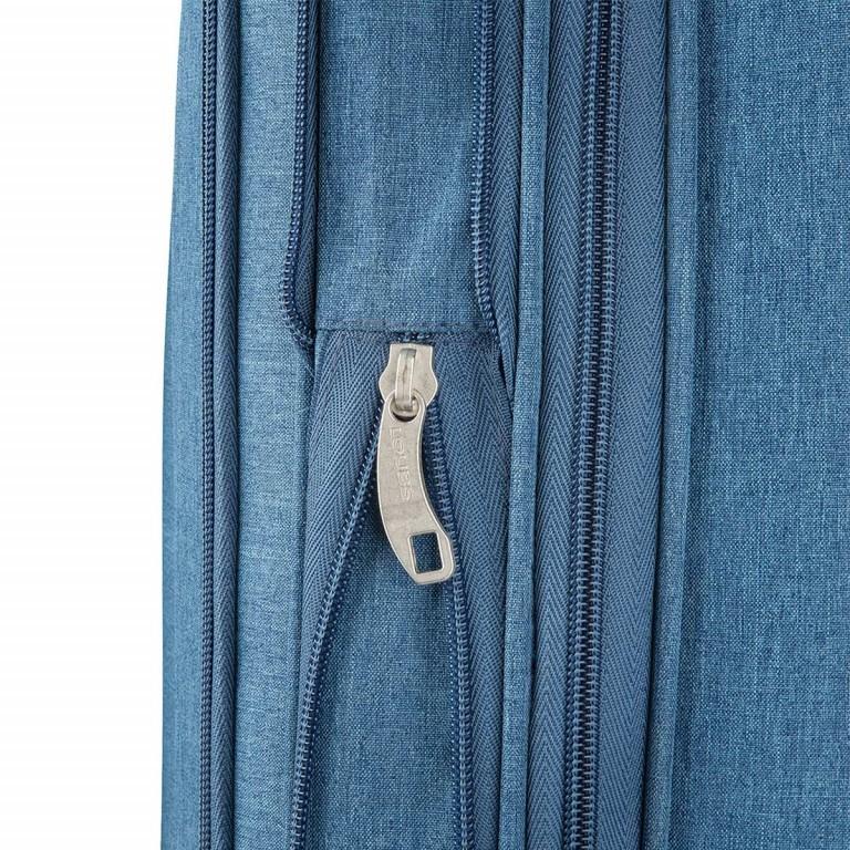 LOUBS Trolley Townsville 65cm Jeansblau, Farbe: blau/petrol, Marke: Loubs, Abmessungen in cm: 41.0x65.0x26.0, Bild 4 von 6