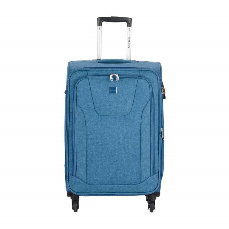 LOUBS Trolley Townsville 65cm Jeansblau, Farbe: blau/petrol, Marke: Loubs, Abmessungen in cm: 41.0x65.0x26.0, Bild 1 von 6