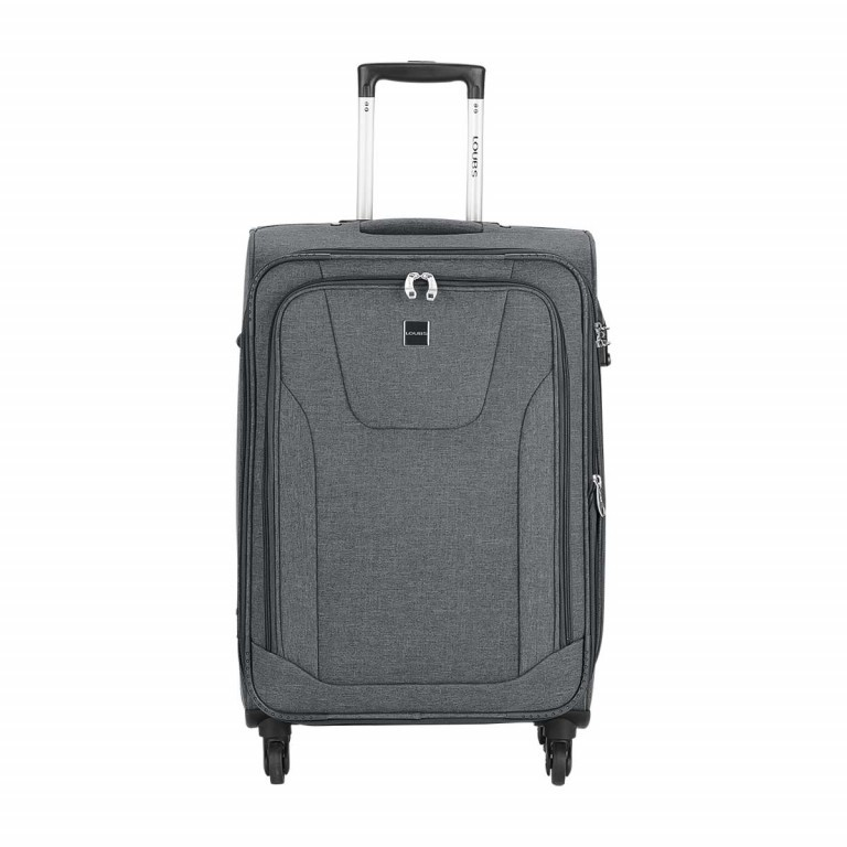 LOUBS Trolley Townsville 65cm Anthra, Farbe: anthrazit, Manufacturer: Loubs, Dimensions (cm): 41.0x65.0x26.0, Image 1 of 6