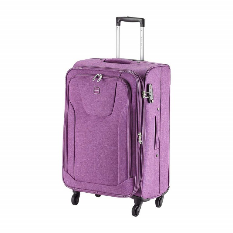 LOUBS Trolley Townsville 65cm Lila, Farbe: flieder/lila, Manufacturer: Loubs, Dimensions (cm): 41.0x65.0x26.0, Image 2 of 6