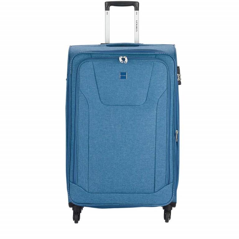 LOUBS Trolley Townsville 76cm Jeansblau, Farbe: blau/petrol, Manufacturer: Loubs, Dimensions (cm): 47.0x76.0x30.0, Image 1 of 6
