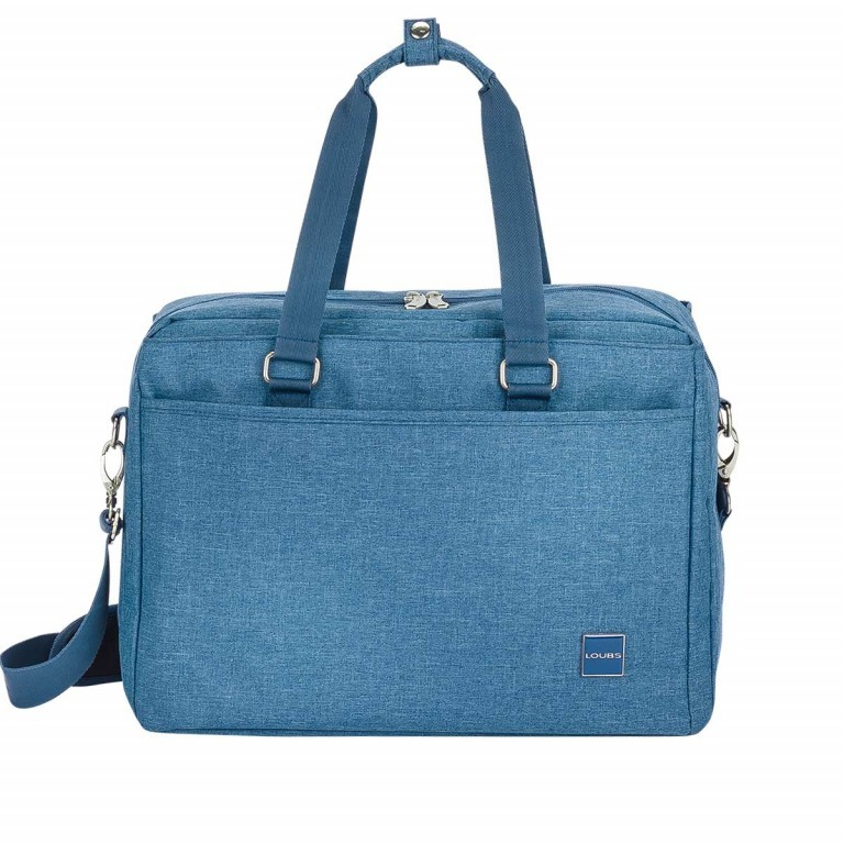 LOUBS Boardcase Townsville 41cm Jeansblau, Farbe: blau/petrol, Manufacturer: Loubs, Dimensions (cm): 41.0x29.0x19.0, Image 1 of 4