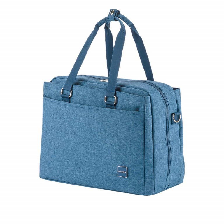 LOUBS Boardcase Townsville 41cm Jeansblau, Farbe: blau/petrol, Manufacturer: Loubs, Dimensions (cm): 41.0x29.0x19.0, Image 2 of 4