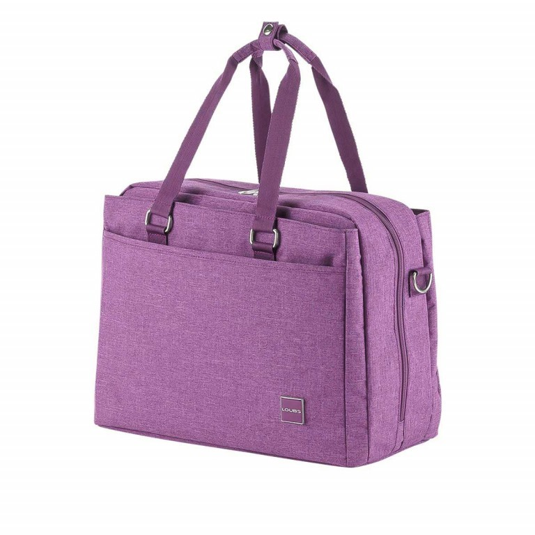 LOUBS Boardcase Townsville 41cm Lila, Farbe: flieder/lila, Manufacturer: Loubs, Dimensions (cm): 41.0x29.0x19.0, Image 2 of 4