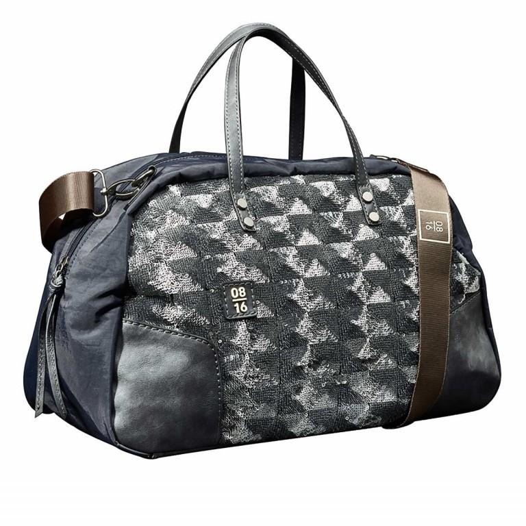 08|16 Almere Dette Handbag M Black, Farbe: schwarz, Marke: 08|16, EAN: 4053533454310, Abmessungen in cm: 40.0x25.0x15.0, Bild 1 von 1
