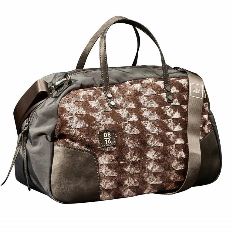 08|16 Almere Dette Handbag M Copper, Farbe: braun, metallic, Marke: 08|16, EAN: 4053533454327, Abmessungen in cm: 40.0x25.0x15.0, Bild 1 von 1