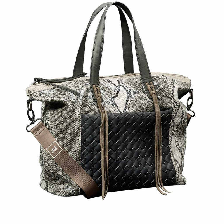 08|16 Hoorn Amalia Shopper M Black, Farbe: schwarz, Marke: 08|16, EAN: 4053533454945, Bild 1 von 1