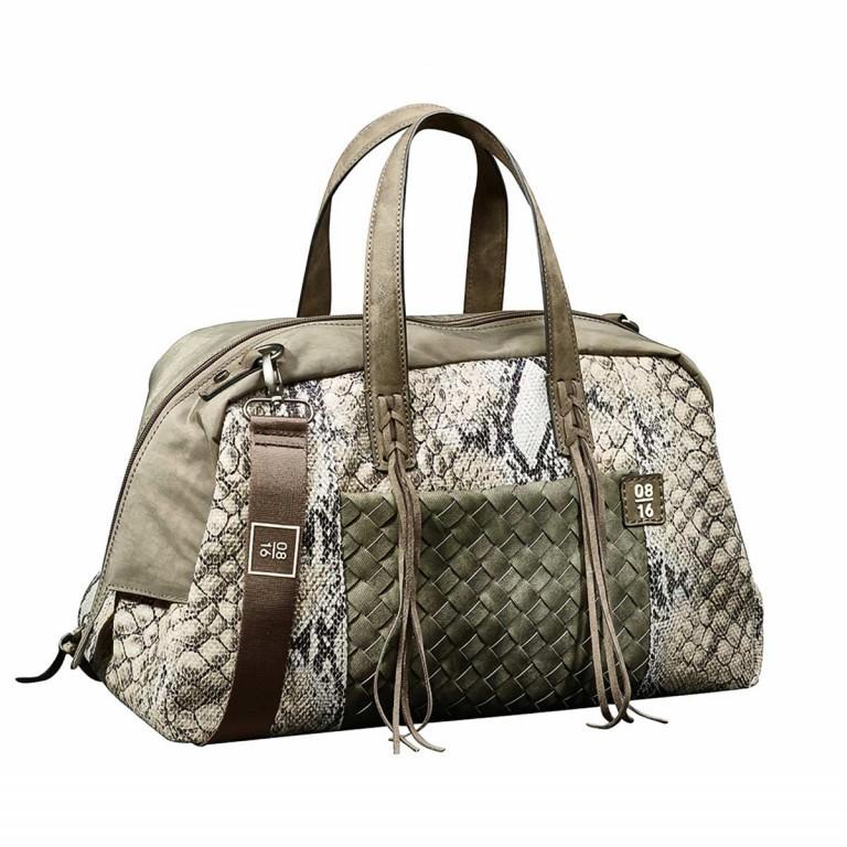 08|16 Hoorn Dette Handbag M Mud, Farbe: braun, taupe/khaki, grün/oliv, Marke: 08|16, EAN: 4053533454969, Abmessungen in cm: 40.0x25.0x15.0, Bild 1 von 1