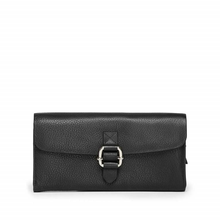 Adax Sorano 451994 Große Börse Black, Farbe: schwarz, Marke: Adax, EAN: 5705483150109, Abmessungen in cm: 19.0x10.0x2.5, Bild 1 von 2