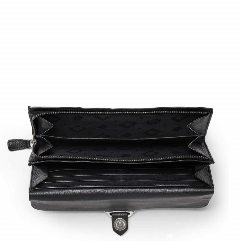 Adax Sorano 451994 Große Börse Black, Farbe: schwarz, Marke: Adax, EAN: 5705483150109, Abmessungen in cm: 19.0x10.0x2.5, Bild 2 von 2