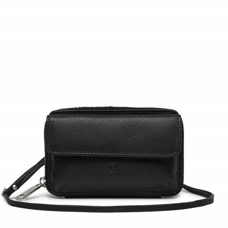 Adax Cormorano 453192 Combi Mobile Wallet Black, Farbe: schwarz, Marke: Adax, EAN: 5705483161044, Abmessungen in cm: 15.0x9.0x2.0, Bild 1 von 2