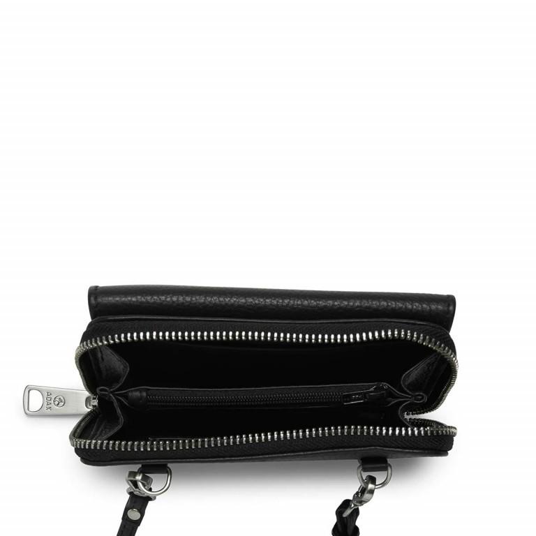 Adax Cormorano 453192 Combi Mobile Wallet Black, Farbe: schwarz, Marke: Adax, EAN: 5705483161044, Abmessungen in cm: 15.0x9.0x2.0, Bild 2 von 2