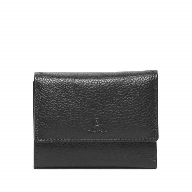 Adax Cormorano 453892 Börse Black, Farbe: schwarz, Marke: Adax, EAN: 5705483161198, Abmessungen in cm: 13.0x10.0x2.0, Bild 1 von 2