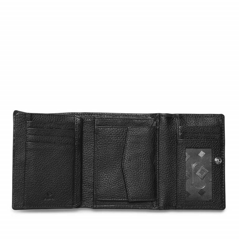 Adax Cormorano 453892 Börse Black, Farbe: schwarz, Marke: Adax, EAN: 5705483161198, Abmessungen in cm: 13.0x10.0x2.0, Bild 2 von 2