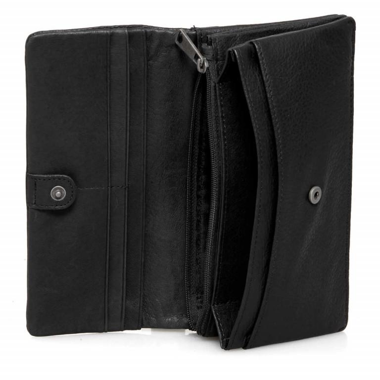 LIEBESKIND Vintage Slam 6 Börse Black, Farbe: schwarz, Marke: Liebeskind Berlin, EAN: 4051436837988, Abmessungen in cm: 18.5x10.0x3.0, Bild 2 von 3