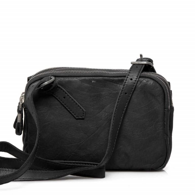 LIEBESKIND Vintage Maike 6 Tasche Black, Farbe: schwarz, Marke: Liebeskind Berlin, EAN: 4051436837780, Abmessungen in cm: 23.0x17.0x7.0, Bild 4 von 4