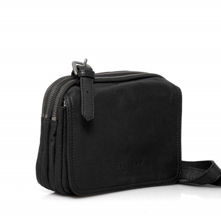 LIEBESKIND Vintage Maike 6 Tasche Black, Farbe: schwarz, Marke: Liebeskind Berlin, EAN: 4051436837780, Abmessungen in cm: 23.0x17.0x7.0, Bild 2 von 4