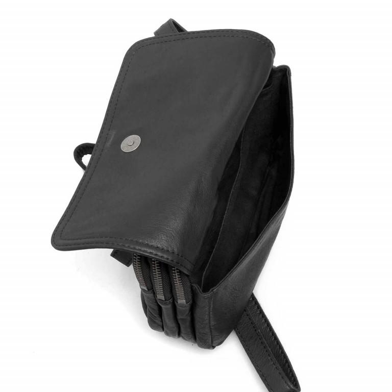 LIEBESKIND Vintage Maike 6 Tasche Black, Farbe: schwarz, Marke: Liebeskind Berlin, EAN: 4051436837780, Abmessungen in cm: 23.0x17.0x7.0, Bild 3 von 4
