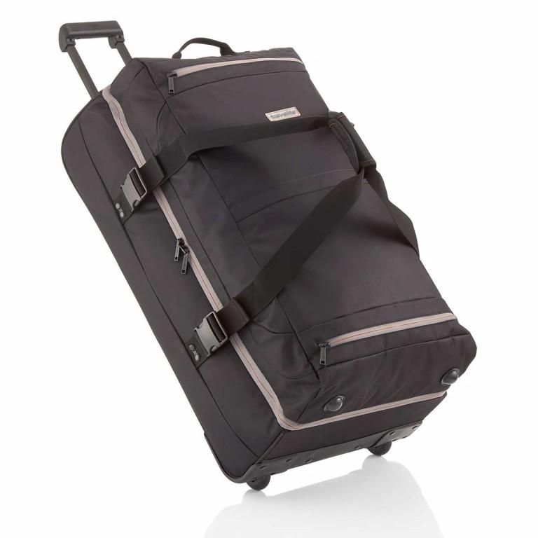 Travelite Basic Doppeldeckertrolley Reisetasche 94l 78cm Schwarz, Farbe: schwarz, Marke: Travelite, Abmessungen in cm: 40.0x78.0x30.0, Bild 1 von 2