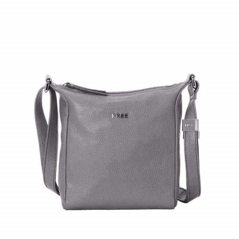 BREE Nola 1 Handtasche Leder Grau, Farbe: grau, Marke: Bree, Abmessungen in cm: 18.0x20.0x6.0, Bild 1 von 2