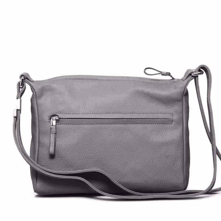 BREE Nola 2 Handtasche Leder Grau, Farbe: grau, Marke: Bree, Abmessungen in cm: 26.0x20.0x7.0, Bild 3 von 4