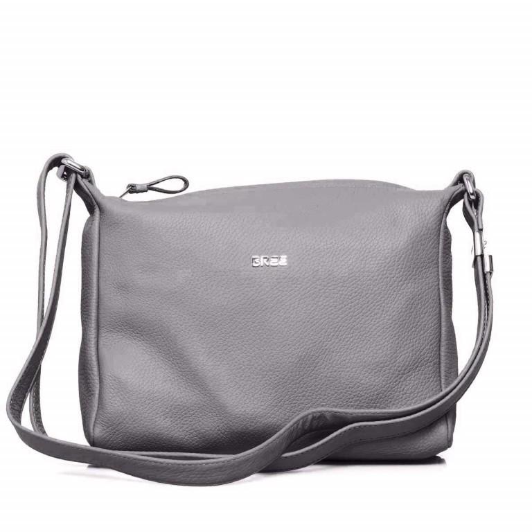 BREE Nola 2 Handtasche Leder Grau, Farbe: grau, Marke: Bree, Abmessungen in cm: 26.0x20.0x7.0, Bild 1 von 4