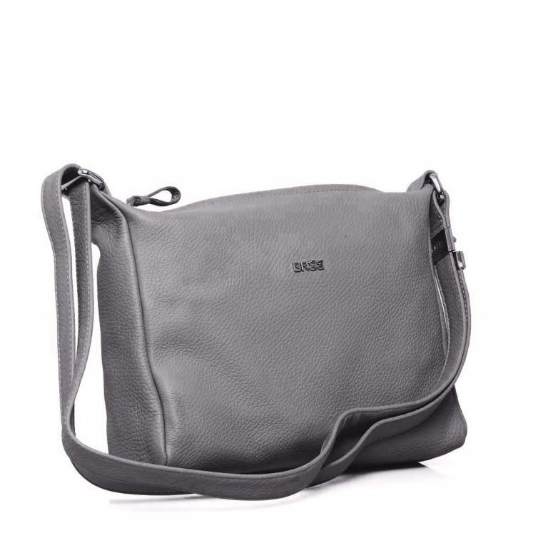 BREE Nola 2 Handtasche Leder Grau, Farbe: grau, Marke: Bree, Abmessungen in cm: 26.0x20.0x7.0, Bild 2 von 4
