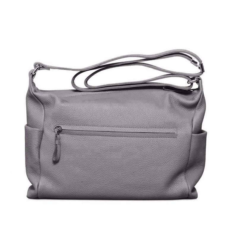 BREE Nola 3 Beutel Leder Grau, Farbe: grau, Marke: Bree, Abmessungen in cm: 35.0x28.0x10.0, Bild 3 von 4