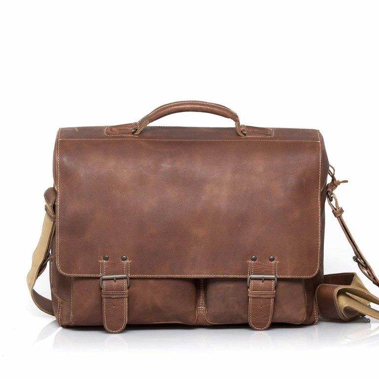 Aunts & Uncles Hunter Jack Leder Vintage Tan, Farbe: cognac, Marke: Aunts & Uncles, Abmessungen in cm: 43.0x33.0x16.5, Bild 1 von 2